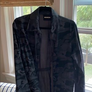 Monrow Camo Military Jacket